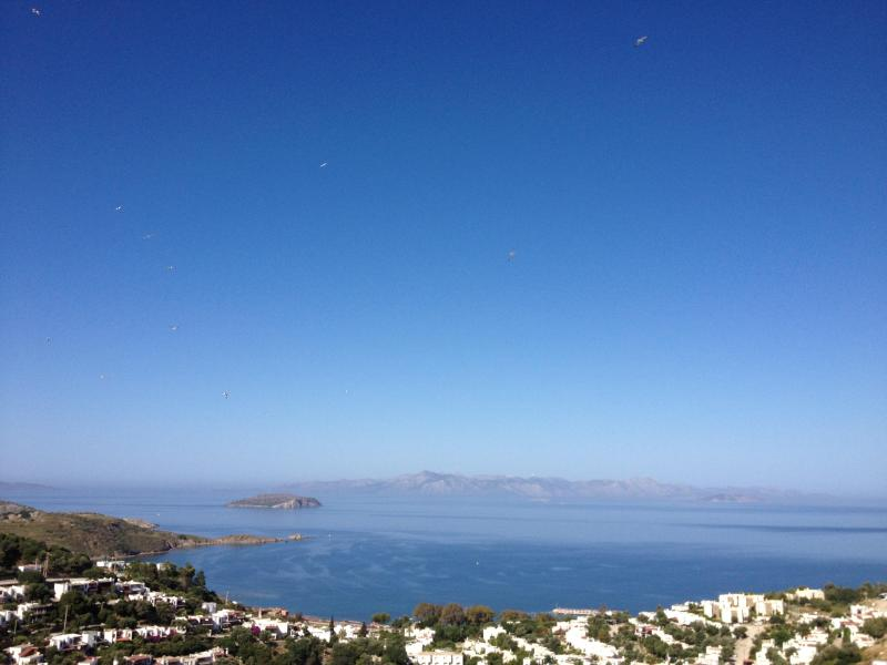 View from the balcony - New and beautiful apartment with panoramic sea views - Bodrum - rentals