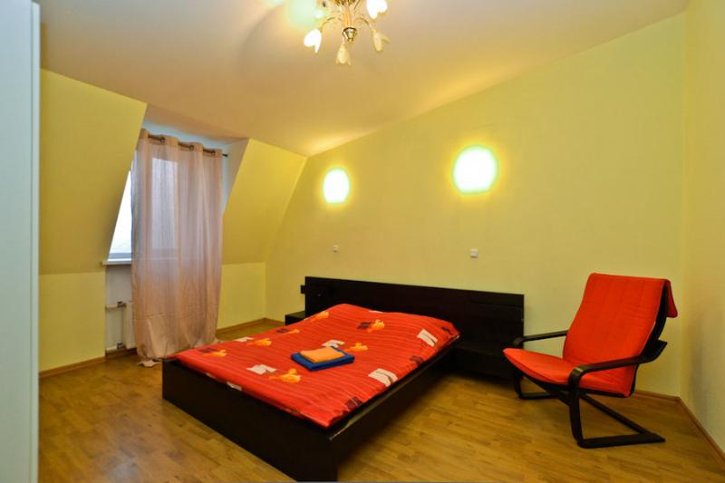 The first bedroom - Pushkin 10 mansarda (La Casa di Bury) - Saint Petersburg - rentals