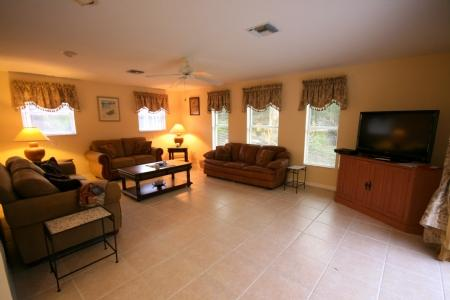 Living Room - Briarwood, Sunbury Ct. 5130 - Naples - rentals
