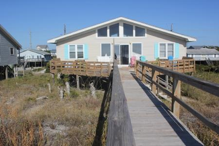 Oceanfront Exterior - Flashlight Canyon- 3BR SUN - Emerald Isle - rentals
