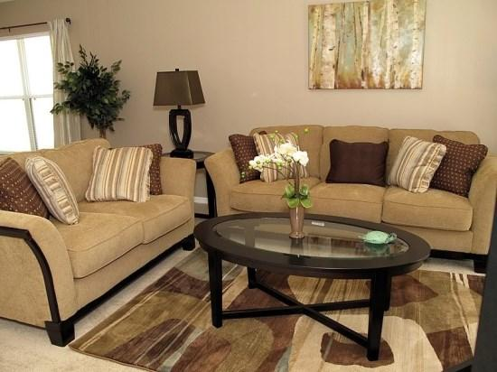 Living Area - EI4P2705LKD Luxury Vacation Home in Kissimmee Near Disney - Four Corners - rentals