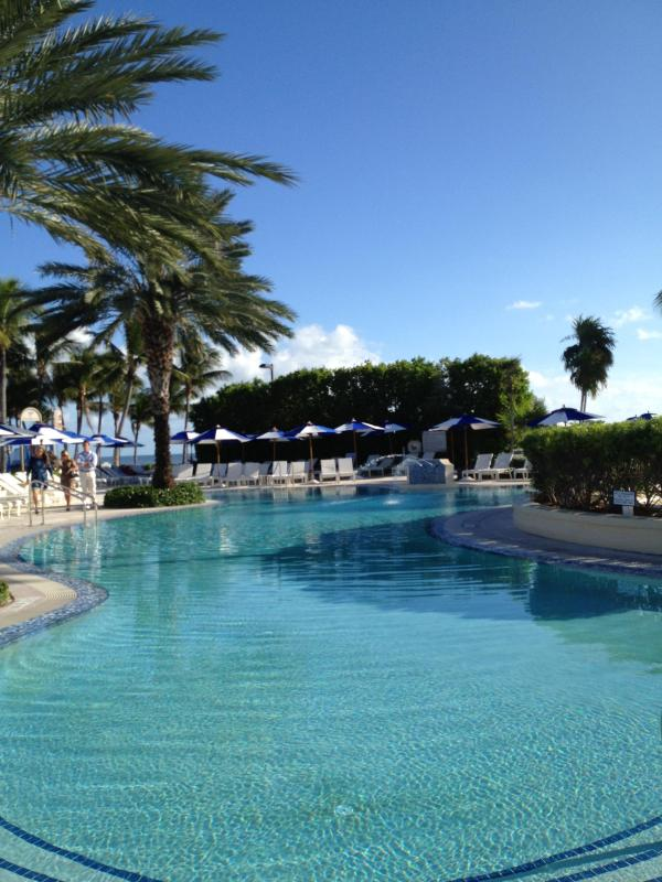 Club Swimming Pool - Ocean Side Villa  in Exclusive Key Largo Community - Key Largo - rentals