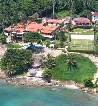 Lovely 10 Bedroom Villa with Oceanfront Pool & Jacuzzi in Cabrera - Image 1 - Cabrera - rentals