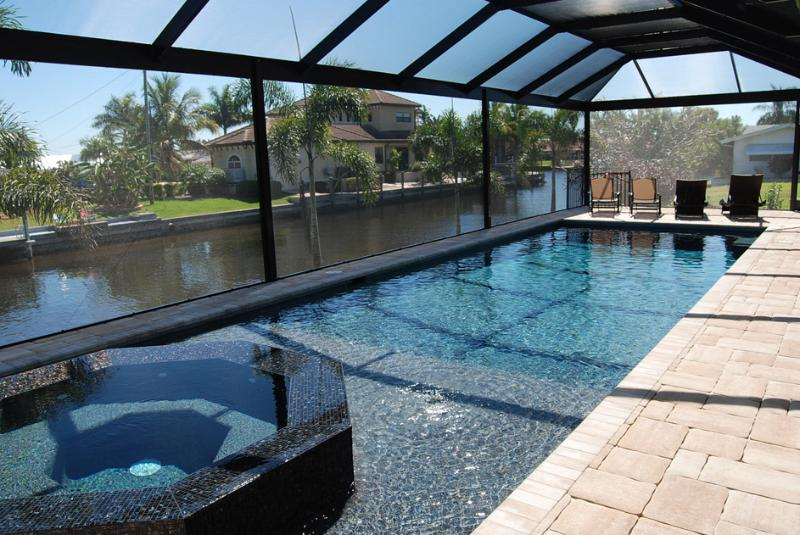 Pool - Brand New Top Luxury House Aruba with Pool and Spa - Cape Coral - rentals