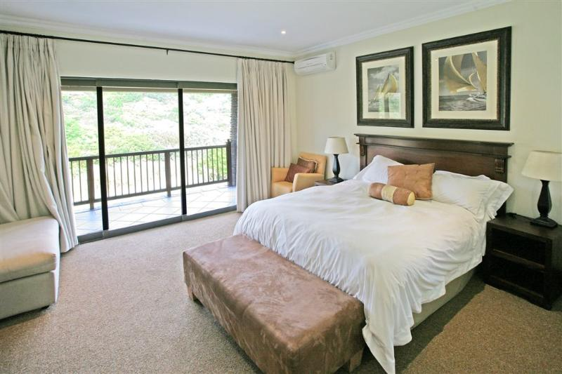 Master Bedroom with personal balcony - Zimbali Resort 4 Bedroom Villa #17, Ballito - Ballito - rentals