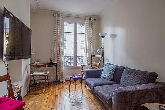 Sejour - 1 bedroom Apartment - Floor area 30 m2 - Paris 11° #21115176 - Paris - rentals