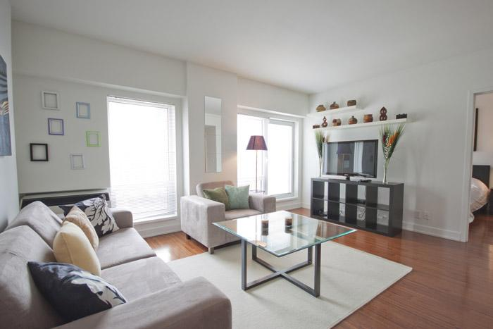 2 bedroom apartment for rent at Mosaique Southam - 450 - Image 1 - Montreal - rentals