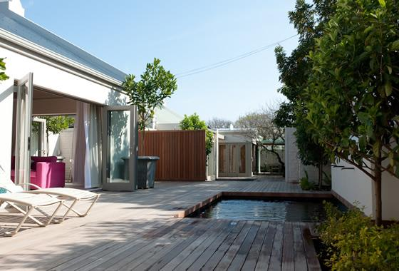 Sunny terrace with pool - Luxury cottage with pool in the centre of the village - Franschhoek - rentals