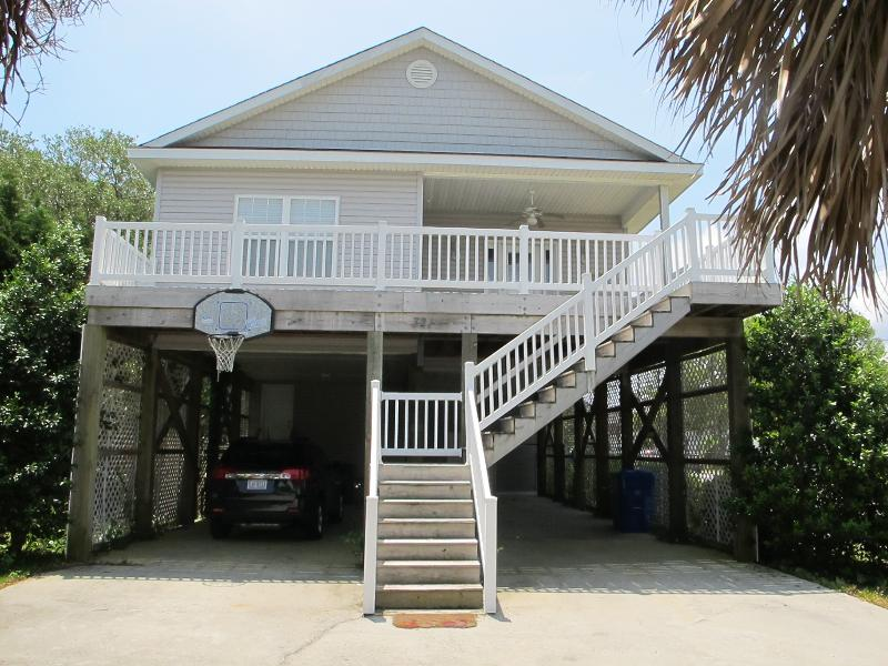 Front of House - 321 Cape Fear Blvd. - Carolina Beach - rentals