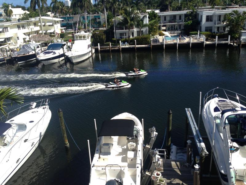 Rooftop Patio View - Luxurious Mediterranean Town House - Fort Lauderdale - rentals