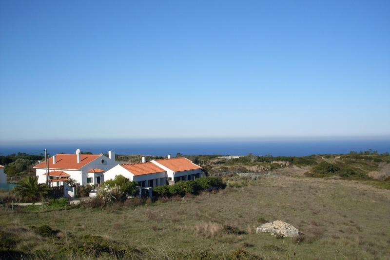 General view of the house - House with garden with view of the ocean - Aldeia do Meco - rentals