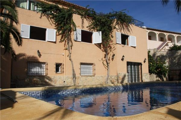Holiday house for 12 persons, with swimming pool , near the beach in Benissa - Image 1 - Benissa - rentals