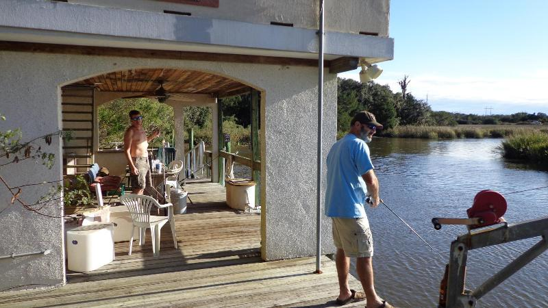Fishing off the dock! - Secluded property with private dock usage on deep water! - Saint Simons Island - rentals