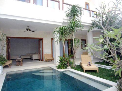 villa pool view - Bali Villas R us - Seminyak trendy new villa idea for 5 guests - Seminyak - rentals