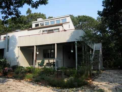 Montauk Hither Hills beach house with large decks and outdoor shower - Hamptons - Montauk, Hither Hills, 4 BR, Private Ocean Access, Beach House - Montauk - rentals