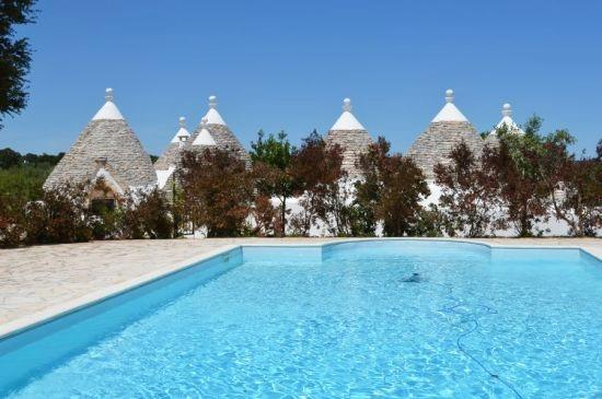 Luxury Estate Trulli for 10 px, the typical houses in stone. Swimming pool - Image 1 - Cisternino - rentals