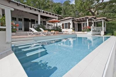 4 Bedroom Villa overlooking the Bay on St. Thomas - Image 1 - Peterborg - rentals