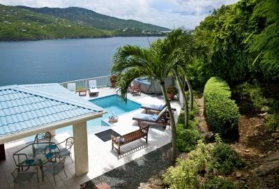 Fantastic 4 Bedroom Villa overlooking Magans Bay on St. Thomas - Image 1 - Peterborg - rentals