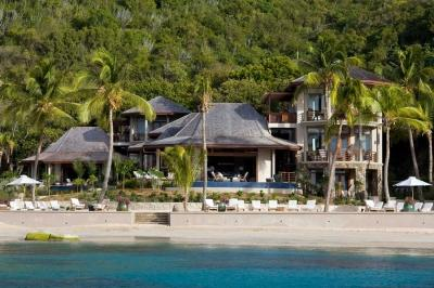 Private 5 Bedroom Villa with Infinity Pool in Mahoe Bay - Image 1 - Mahoe Bay - rentals