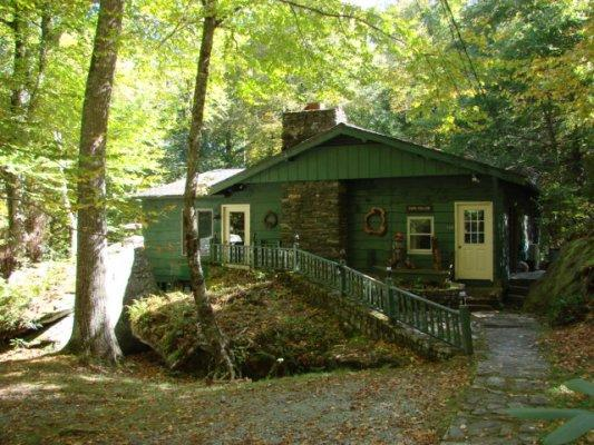 Running Brook and Guesthouse Location: Between Boone & Blowing Rock - Image 1 - Boone - rentals