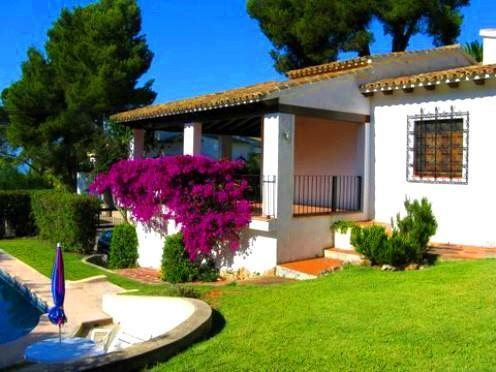Holiday house for 5 persons, with swimming pool , in Moraira - Image 1 - La Llobella - rentals
