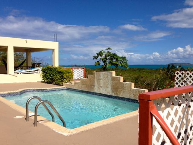 Cool Relaxing Private Pool with Caribbean Sea Views - Amazing Caribbean Views Apt with Pool & AC - Fajardo - rentals