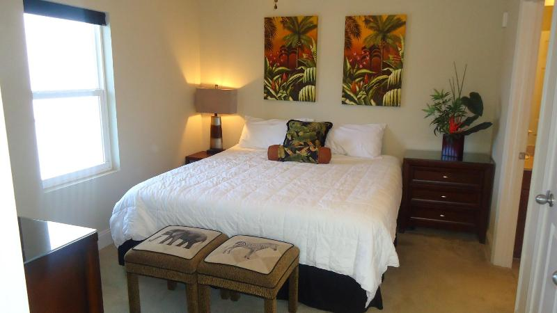 Master bedroom - Lake view and footsteps to the beach!  LW1737 - Panama City Beach - rentals