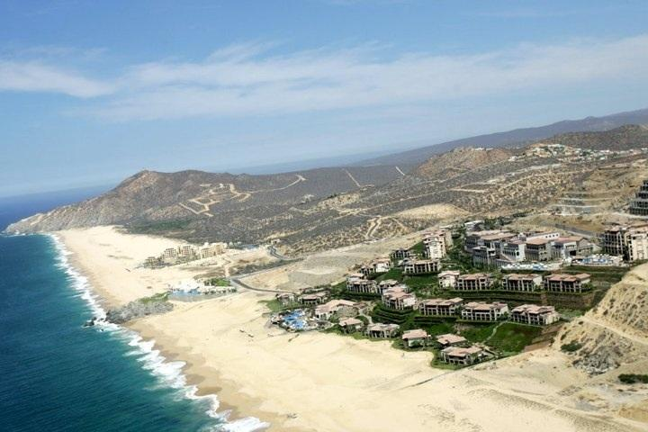 Property From the air and ocean - Luxury home with Pacific & Private Beach views - Cabo San Lucas - rentals