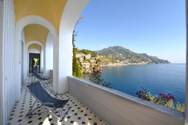 Terrace - Villa with private access to the sea  Amalfi Coast - Minori - rentals