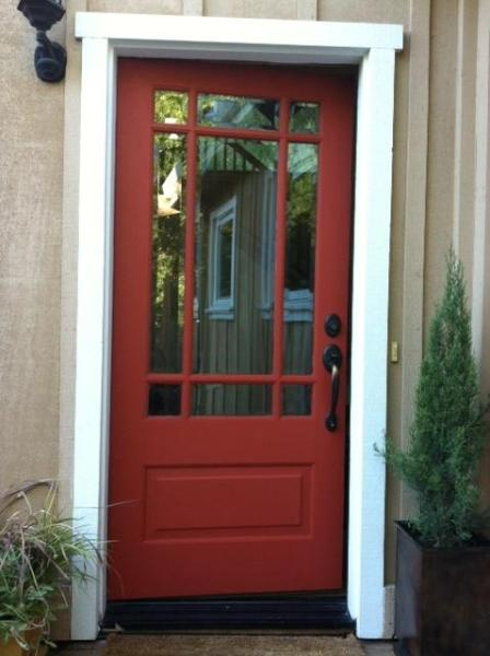 Front Door to property - Beautiful glen ellen home in the heart of wine country - Glen Ellen - rentals