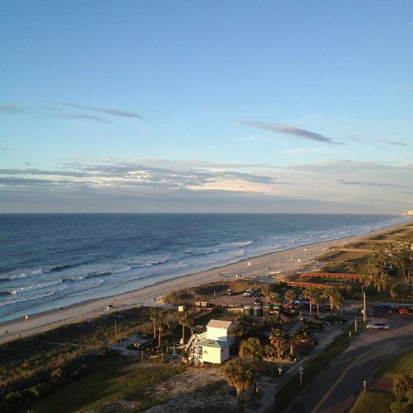 Your view from the balcony - Gorgeous Ocean Views @ Forest Dunes 11th Floor - Myrtle Beach - rentals