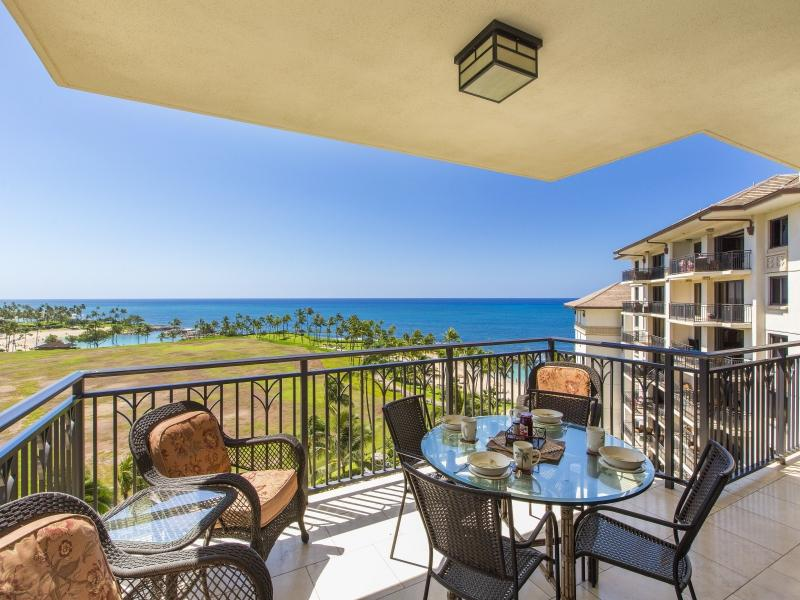 Ocean Views from the balcony - AUG. 26-SEP 2 SPECIAL $649! 8th Floor Beach Villa - Kapolei - rentals