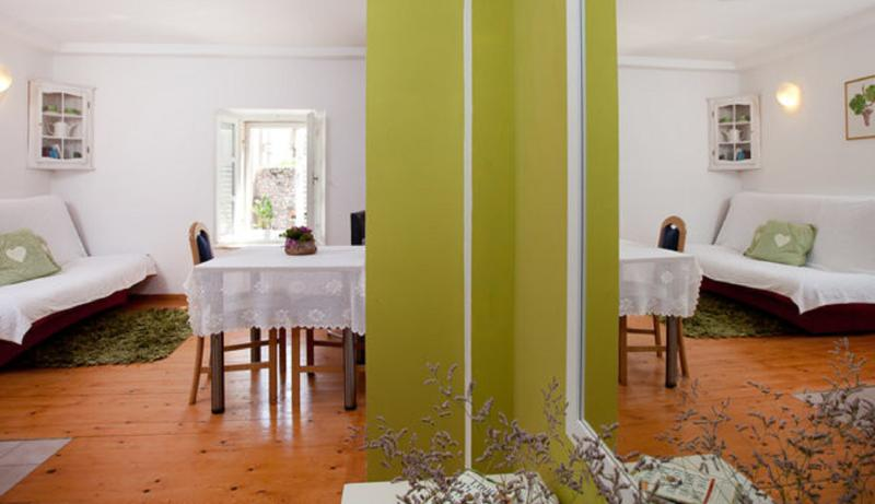 Dining and living area - Old Town Finest -1-Bedroom Apart - Fericeva Street - Dubrovnik - rentals