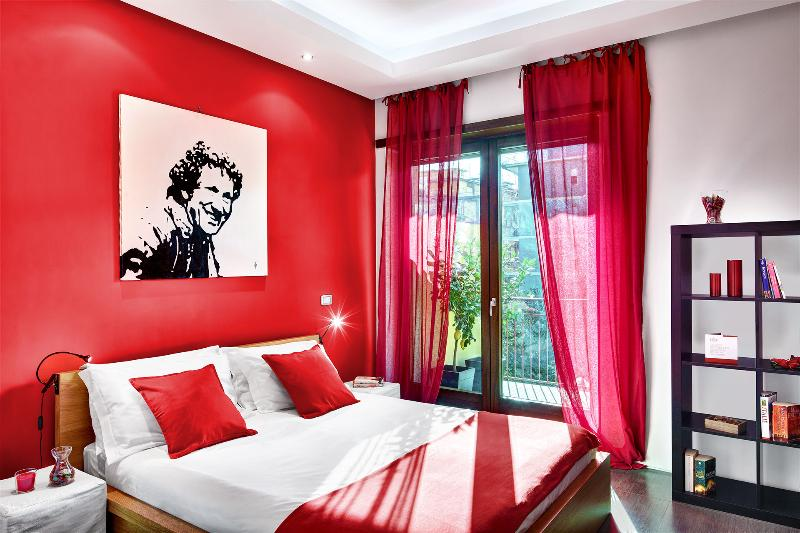 The Red Bedroom  - D3 Apartment, in Sorrento Center - Sorrento - rentals