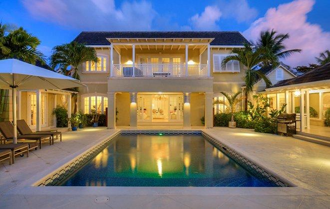 Elegant 5 Bedroom Villa with Private Pool & Beach! - Image 1 - Sandy Lane - rentals