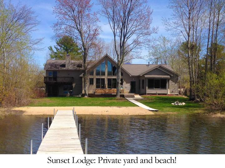 Traverse City Lakefront Lodge With Stunning Sunset Lake Views - Image 1 - Traverse City - rentals