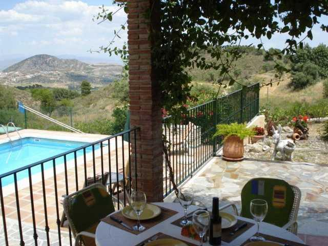 wonderfull views - Rustic Cottage, Air Con, Wifi, Private pool, Views - Coin - rentals