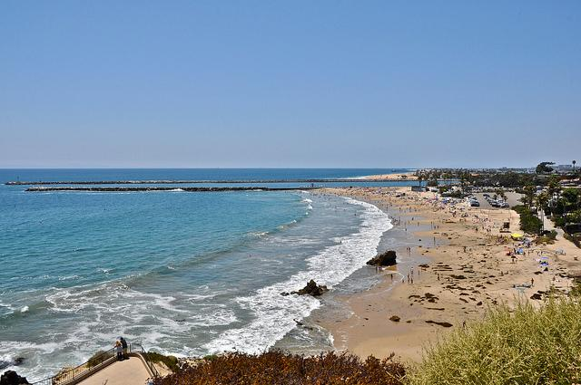 Corona Del Mar State Beach is just 1 block away!! - New! 1 Block to beach in Corona Del Mar, with Patio, outdoor dining,  parking. - Corona del Mar - rentals