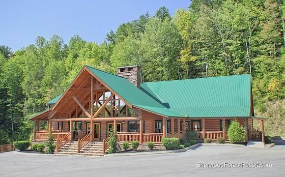 Nottingham Lodge - Image 1 - Pigeon Forge - rentals