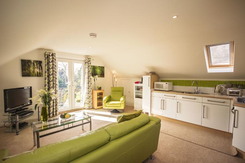 The Green Room sitting room - The Green Room at Linden Lodge in Chichester - Chichester - rentals