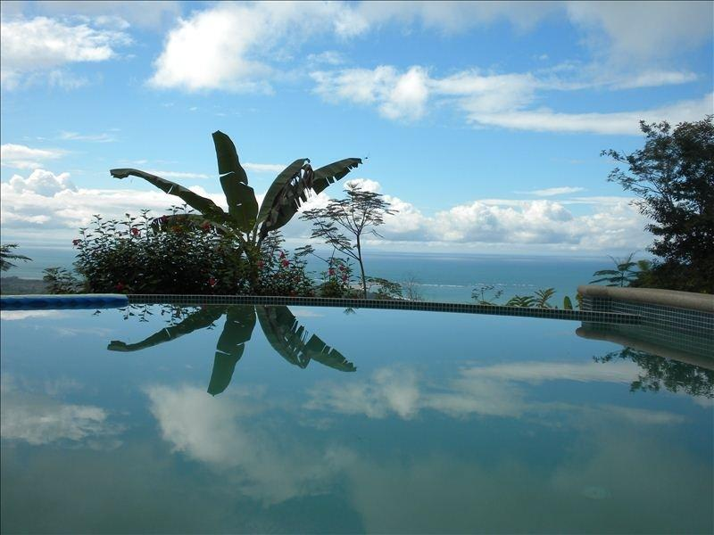 View over the infinity pool to the Ocean - Casa Aracari,Vacation Uvita,Ocean View,Pool...WOW! - Uvita - rentals