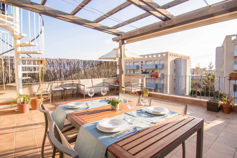 ORANGINE ATTIC comfortable with a large terrace! - Image 1 - Sitges - rentals