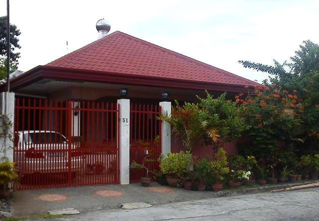 View from the street - Spacey one storey house in subdiv near Davao City - Davao - rentals