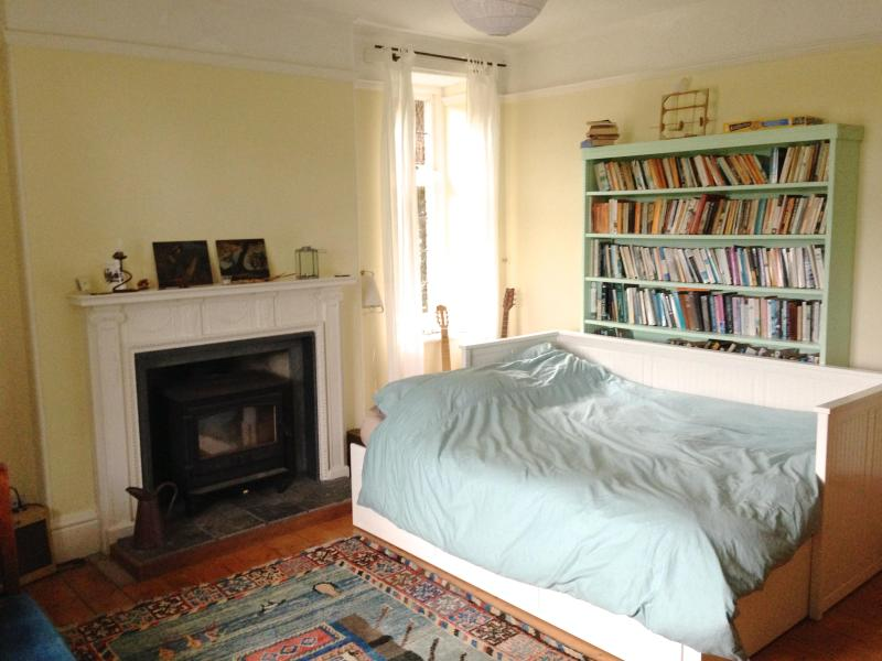 The room with lots of books and art to enjoy - Country house lovely room with views and wifi - Buckfastleigh - rentals
