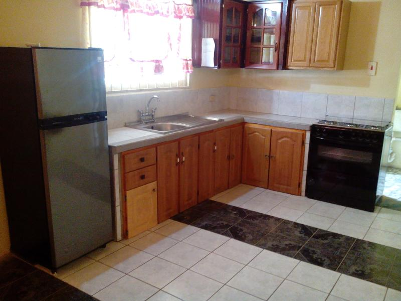kitchen - spacious 3bedroom house furnished - Chaguanas - rentals