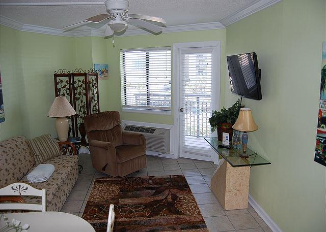 Bluewater 416-Upgraded 1 Bedroom Angle view unit with a scenic view - Image 1 - Myrtle Beach - rentals