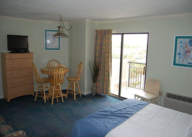 Bluewater 511-1 Bedroom Studio Ocean view unit with a fantastic view - Image 1 - Myrtle Beach - rentals
