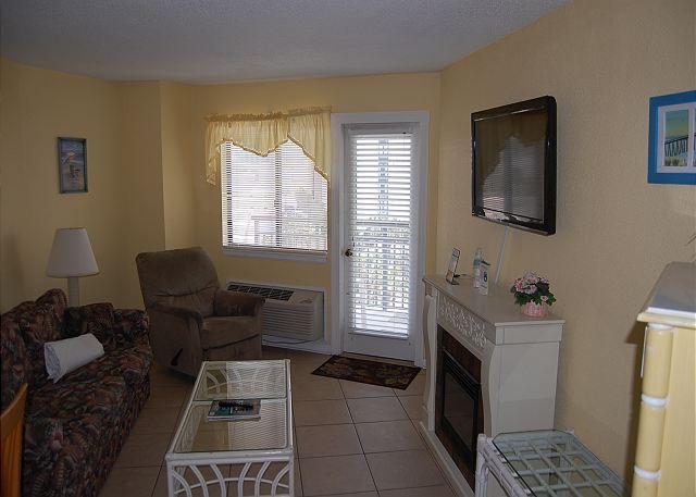 Bluewater 514-Updated 1Bedroom  Angle Ocean View unit with a fantastic view - Image 1 - Myrtle Beach - rentals