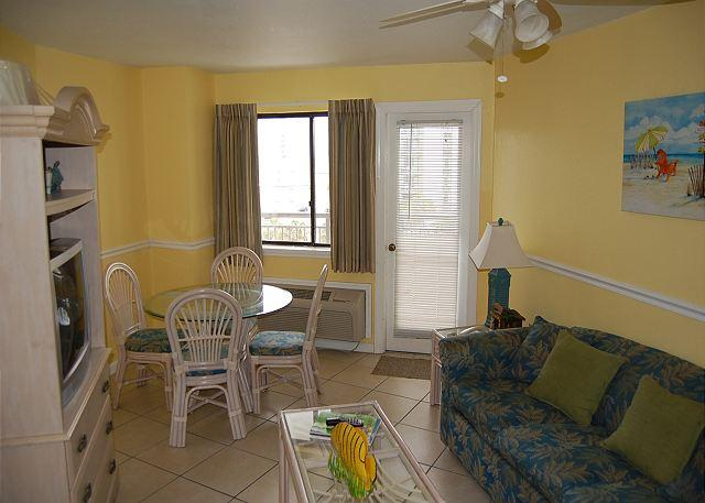 Bluewater 519-Nice 1 Bedroom  Angle Ocean view unit with a great view - Image 1 - Myrtle Beach - rentals
