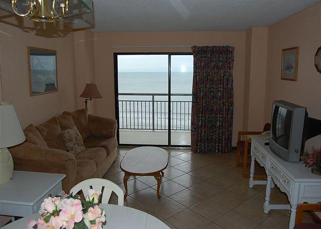 Bluewater 701-2 Bedroom Ocean Front unit with a fantastic view - Image 1 - Myrtle Beach - rentals